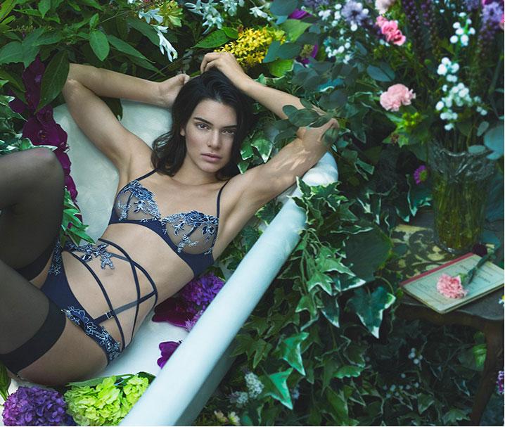 Kendall Jenner x La Perla Fall/Winter 2017 Campaign