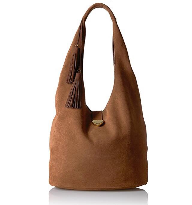dear drew by drew barrymore suede hobo bag from amazon