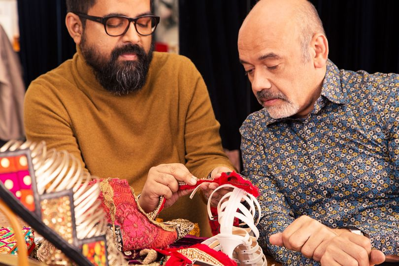 e016f1d188a Footwear News  First Look at The Christian Louboutin x Sabyasachi Mukherjee  Limited-Edition Capsule Collection