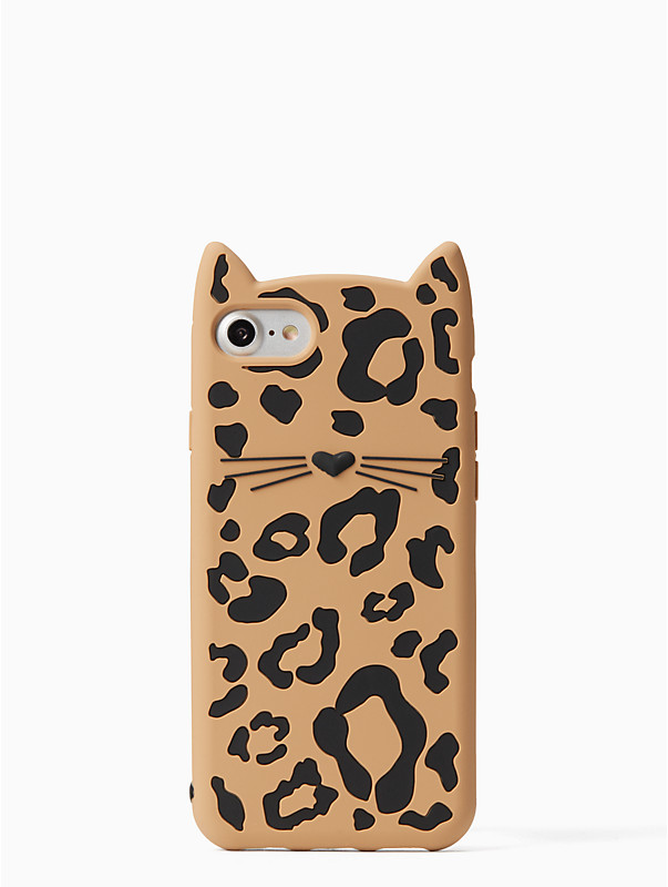 kate spade cheetah cat iphone 7/8 case