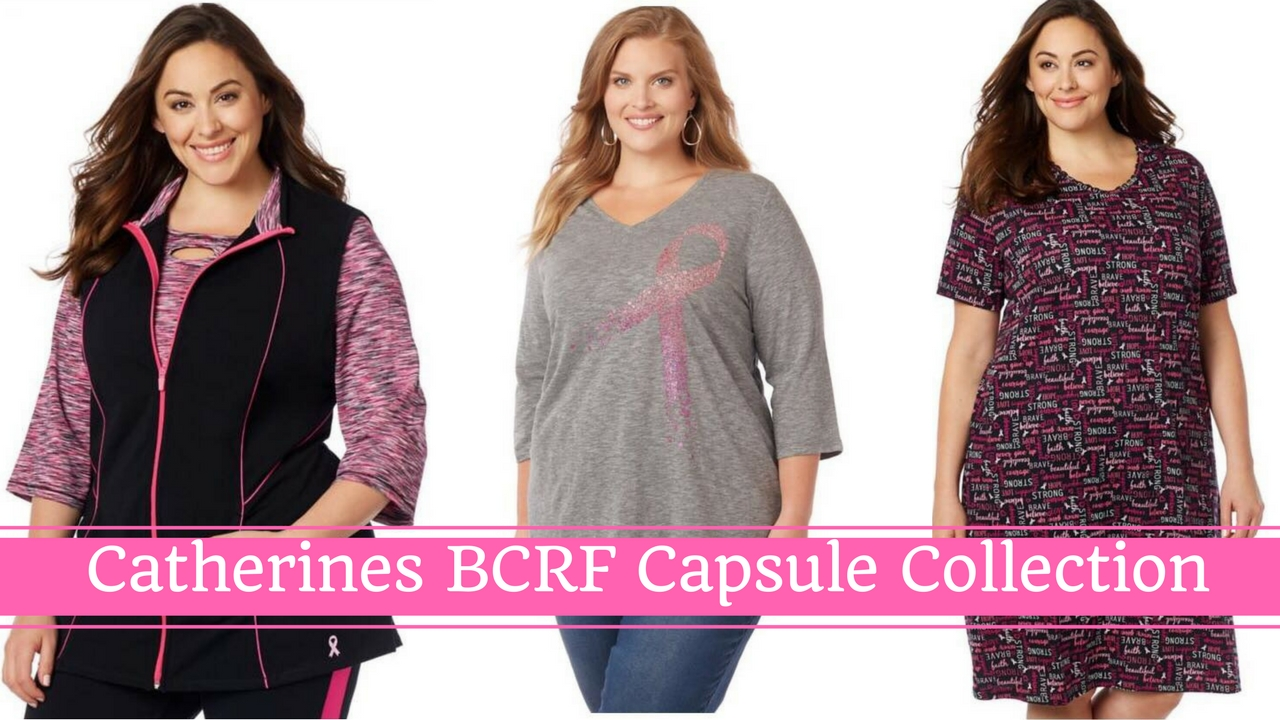 95dc31f3d04 Catherines Plus Sizes Introduces Breast Cancer Research Foundation Capsule  Collection