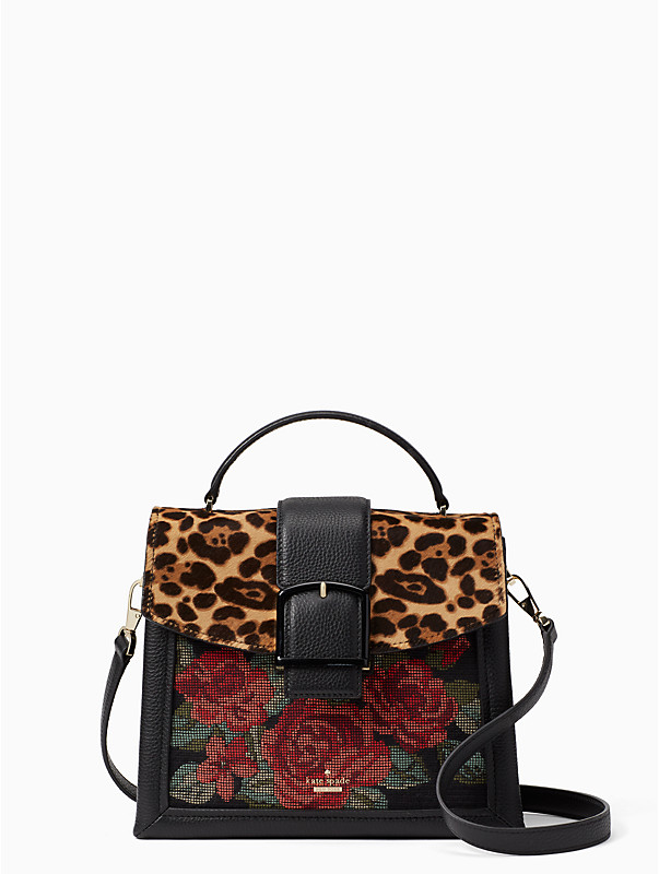 kate spade crawford street leopard print bag