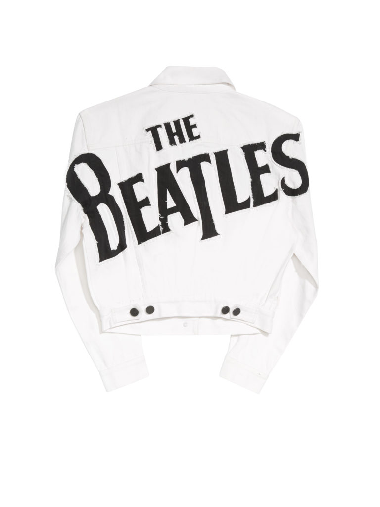 alice and olivia x the beatles jacket