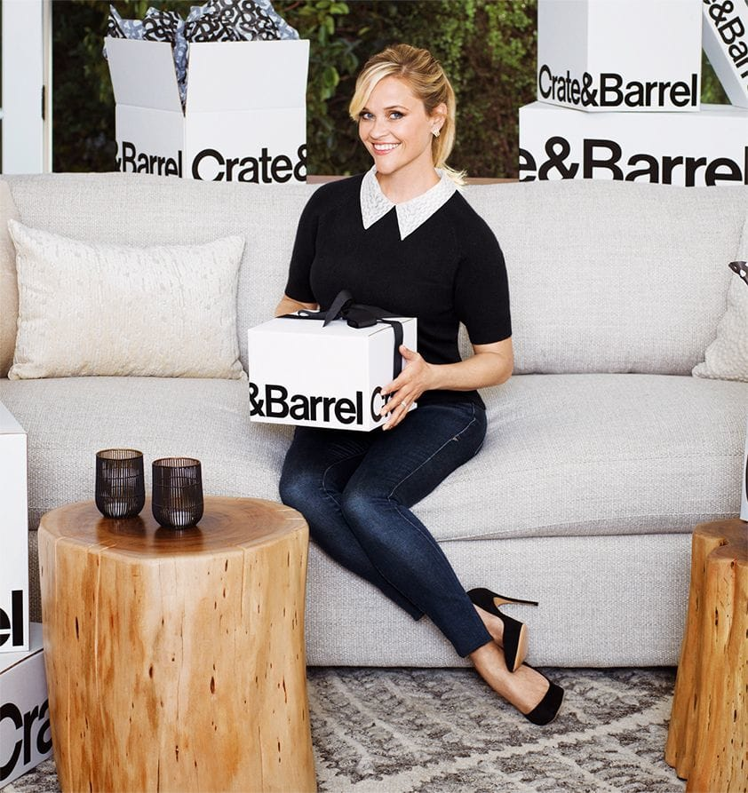 Crate and Barrel + Reese Witherspoon