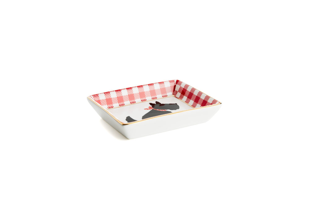 dog small tray from draper james for crate and barrel