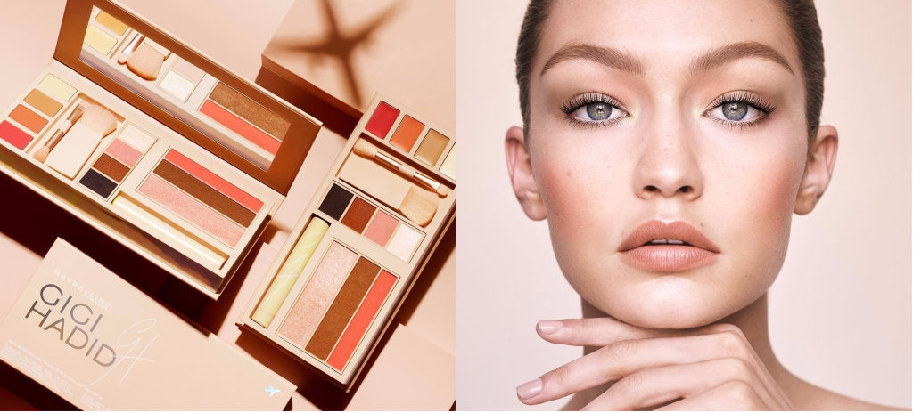 The Gigi Hadid x Maybelline Makeup Collection