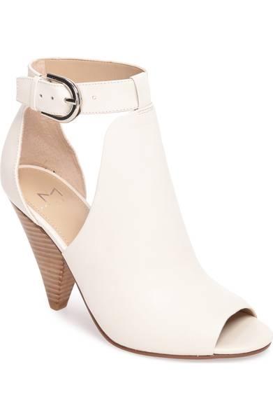 cone shape heel sandal
