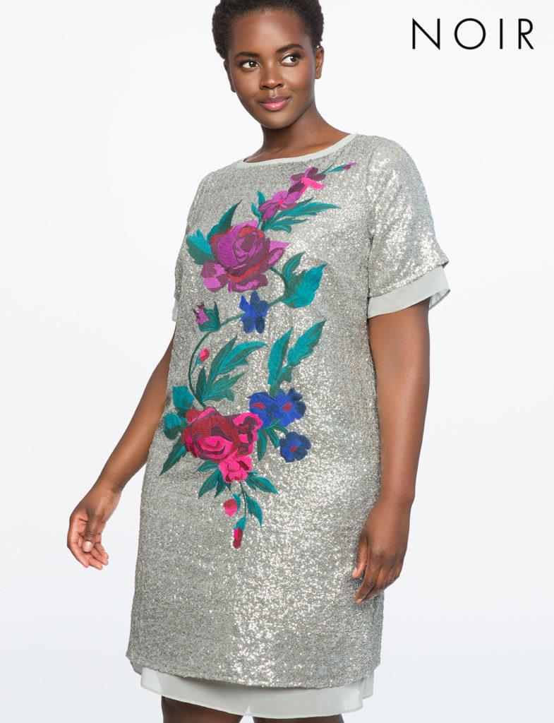 NOIR Amelie Dress by Eloquii