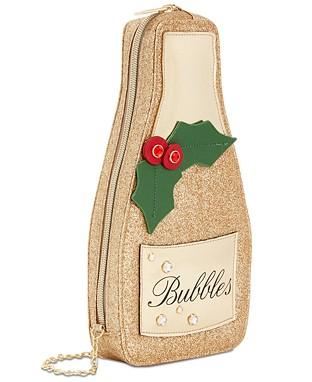 champagne crossbody bag