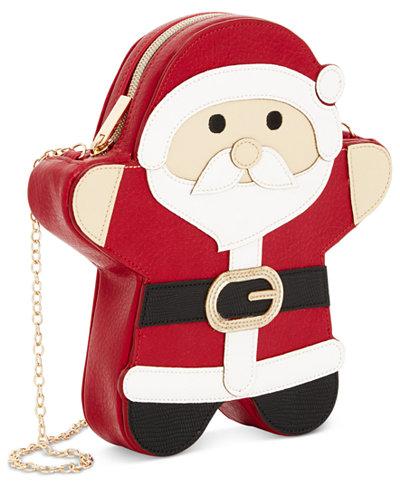 santa crossbody bag