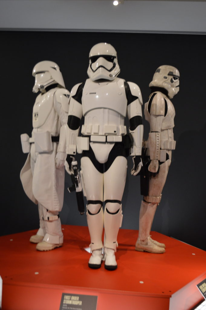 Star Wars and The Power of Costumes Exhibit at the MFA in St Pete , Florida