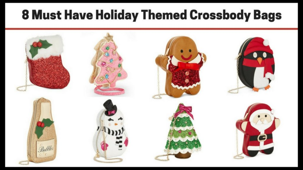 8 Must Have Holiday Themed Crossbody Bags