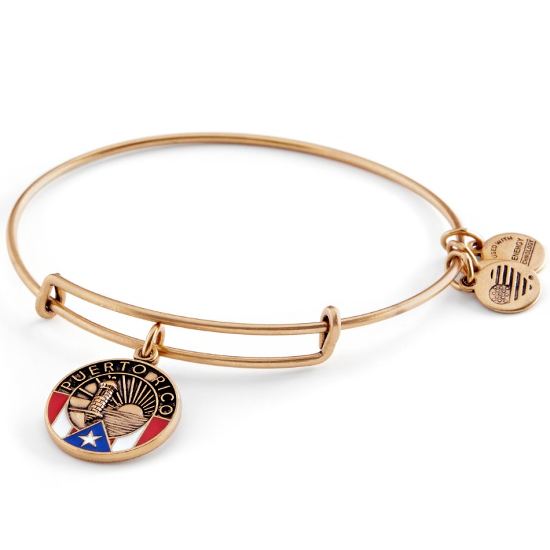 Alex And Ani Puerto Rico Charm Bracelet