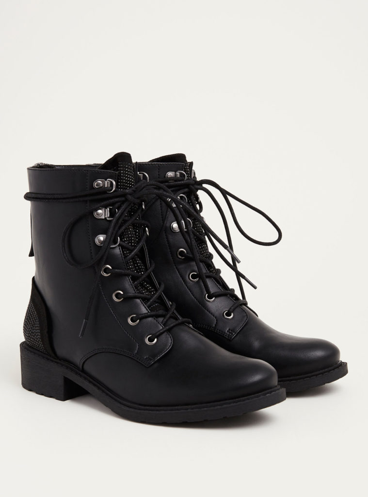 circus by sam edelman black combat boots
