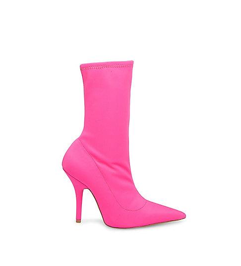 cardi b x steve madden mimi pink booties