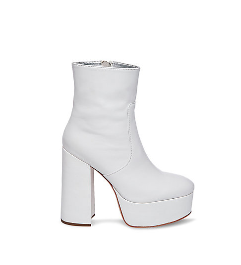 cardi b x steve madden foxy white leather boots