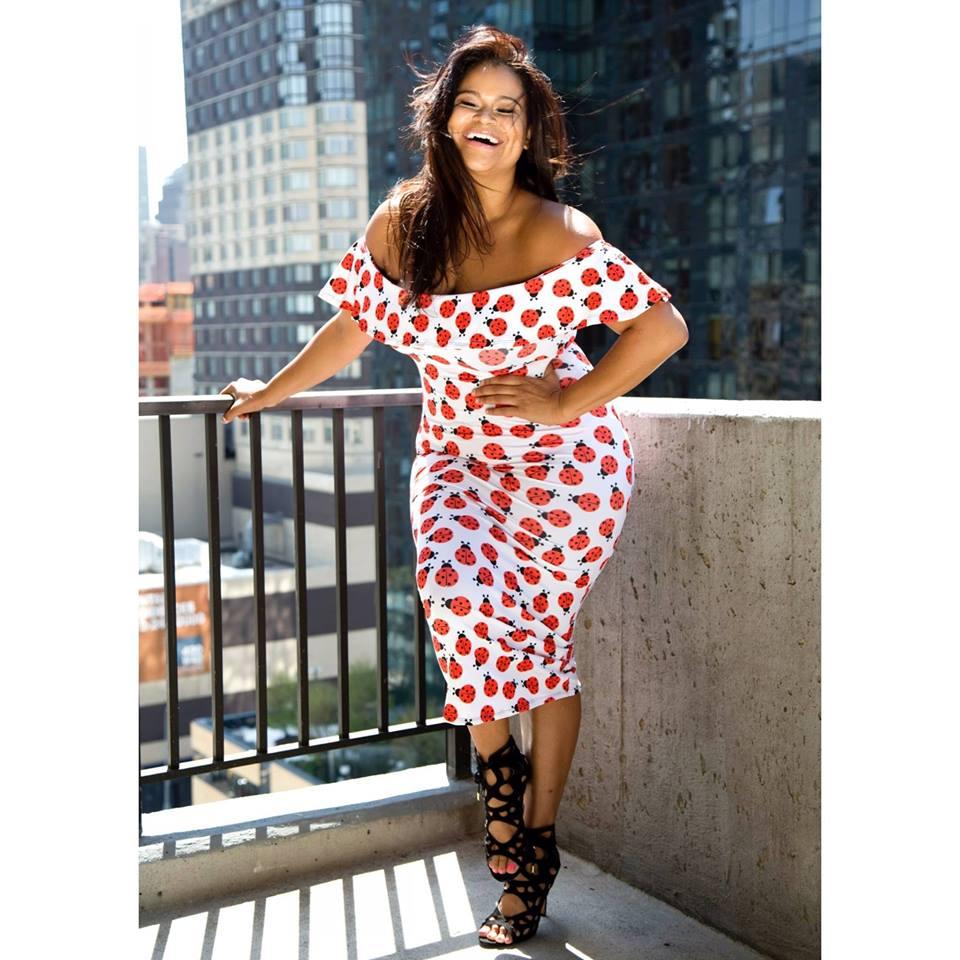Plus Size Model Christina Mendez