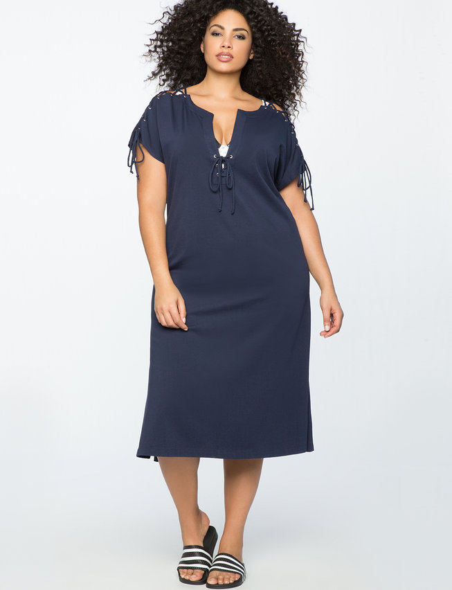 plus size coverup