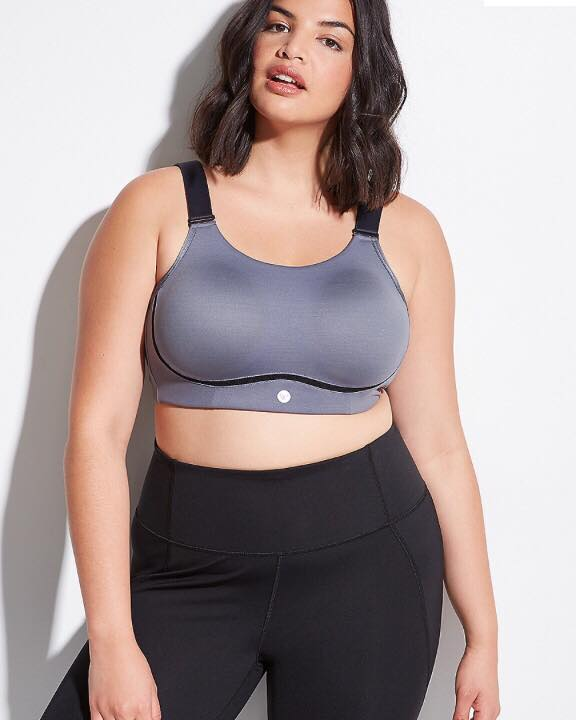 plus size sports bra from livi active by lane bryant