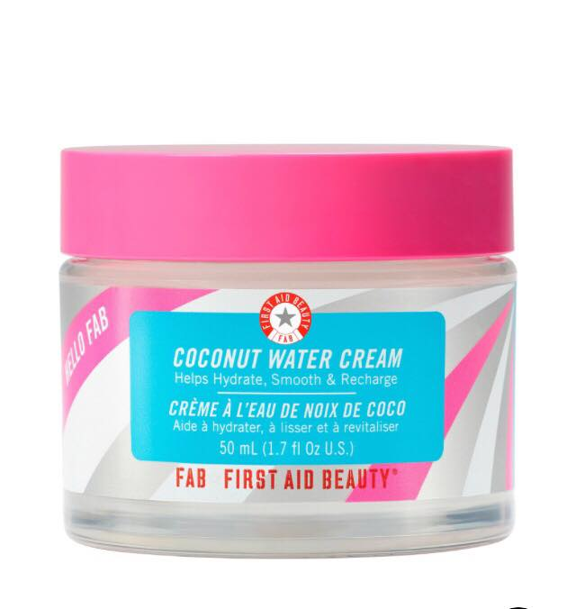 coconut water cream from first aid beauty