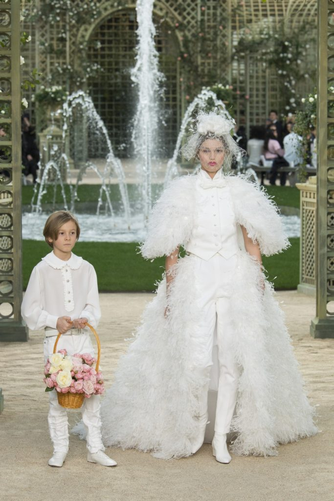 chanel haute couture show in paris