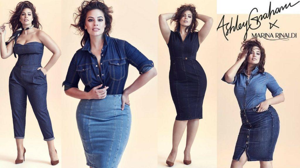 Ashley Graham x Marina Rinaldi SS18 Denim Collection