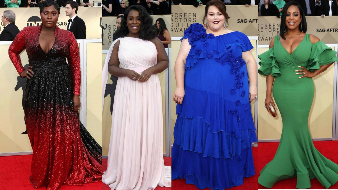 Plus Size Red Carpet