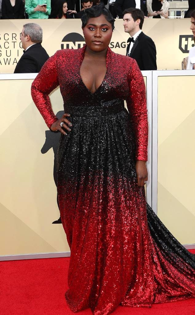 Plus Size Celebrities On The Red Carpet At The 2018 Sag Awards
