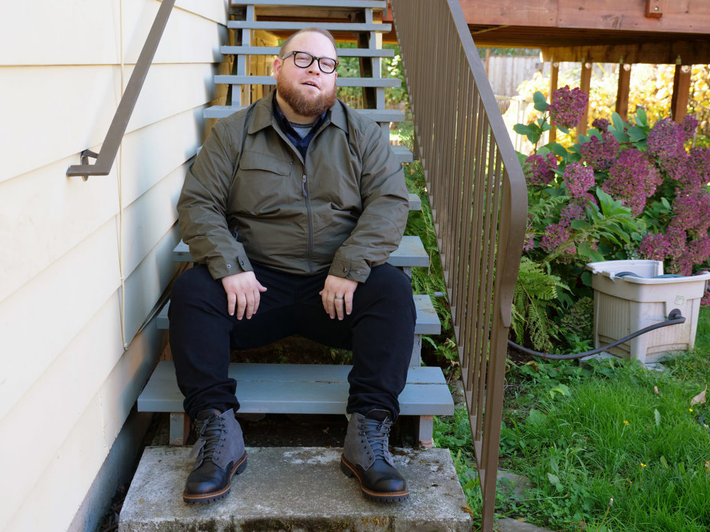 Plus Size Blogger Bruce Sturgell from Chubstr