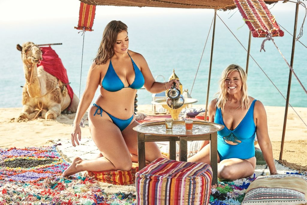 Ashley Graham x Swimsuits x All with her mom linda graham