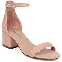 blush pink sandals
