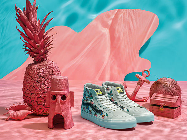 Vans Vault x Spongebob Square Pants Collection 2018