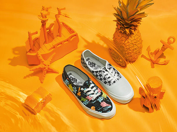 Vans Vault x SpongeBob SquarePants Collection 2018