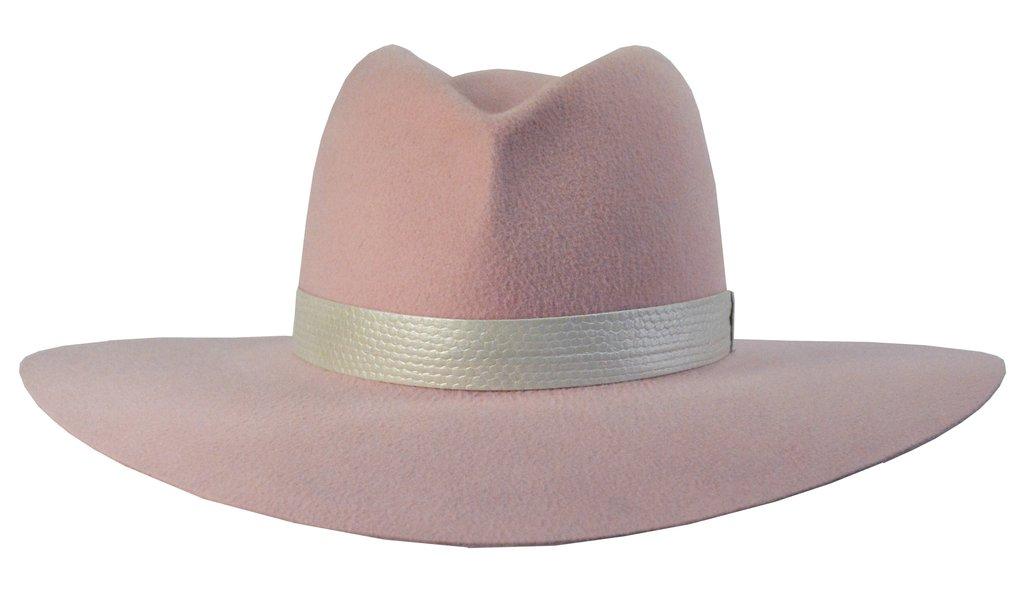 joanne pink hat by gladys tamez