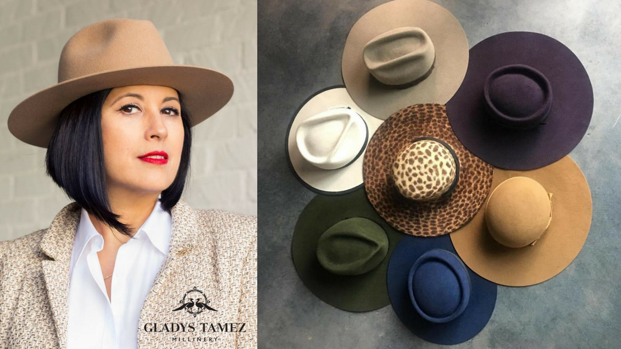 Latinas in Fashion  Mexican Milliner Gladys Tamez of Gladys Tamez Millinery b7737495045