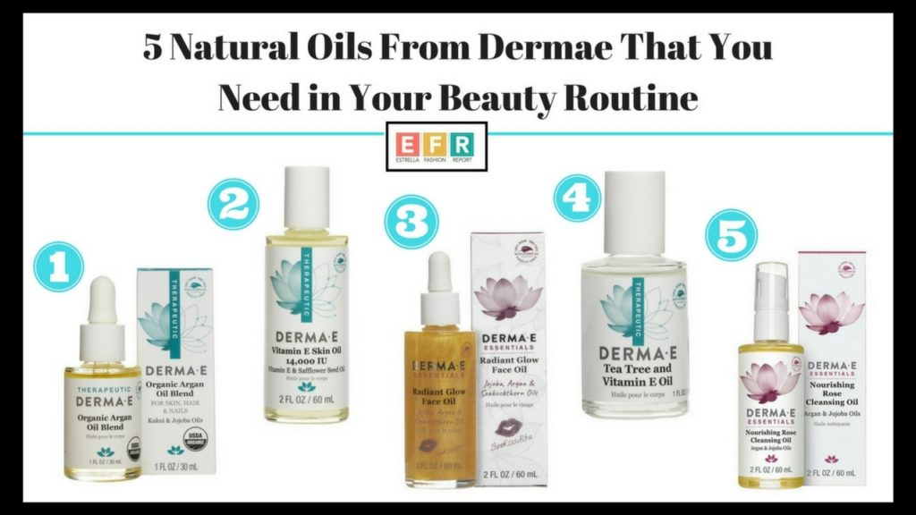 5 Natural Oils From Dermae That You Need in Your Beauty Routine