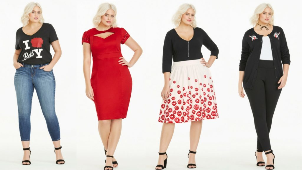 torrid x project runway x betty boop