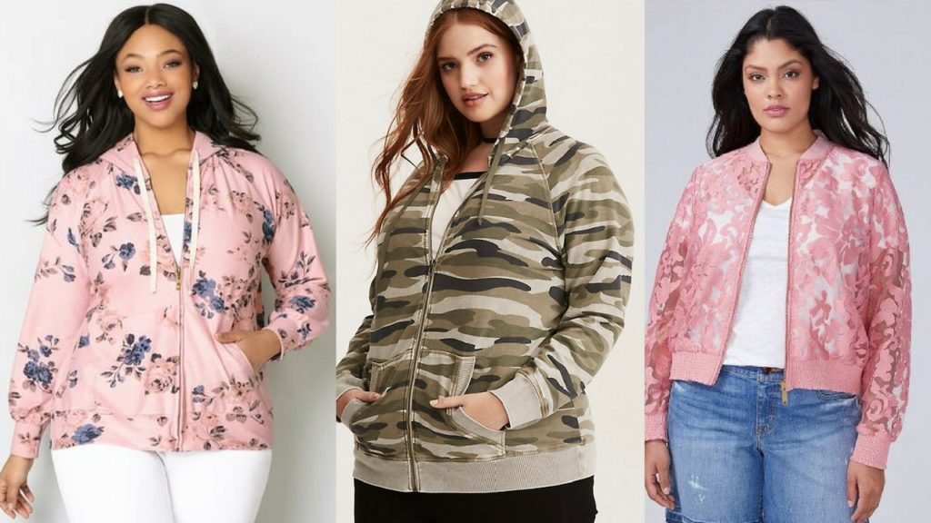 plus size hoodies and jackets
