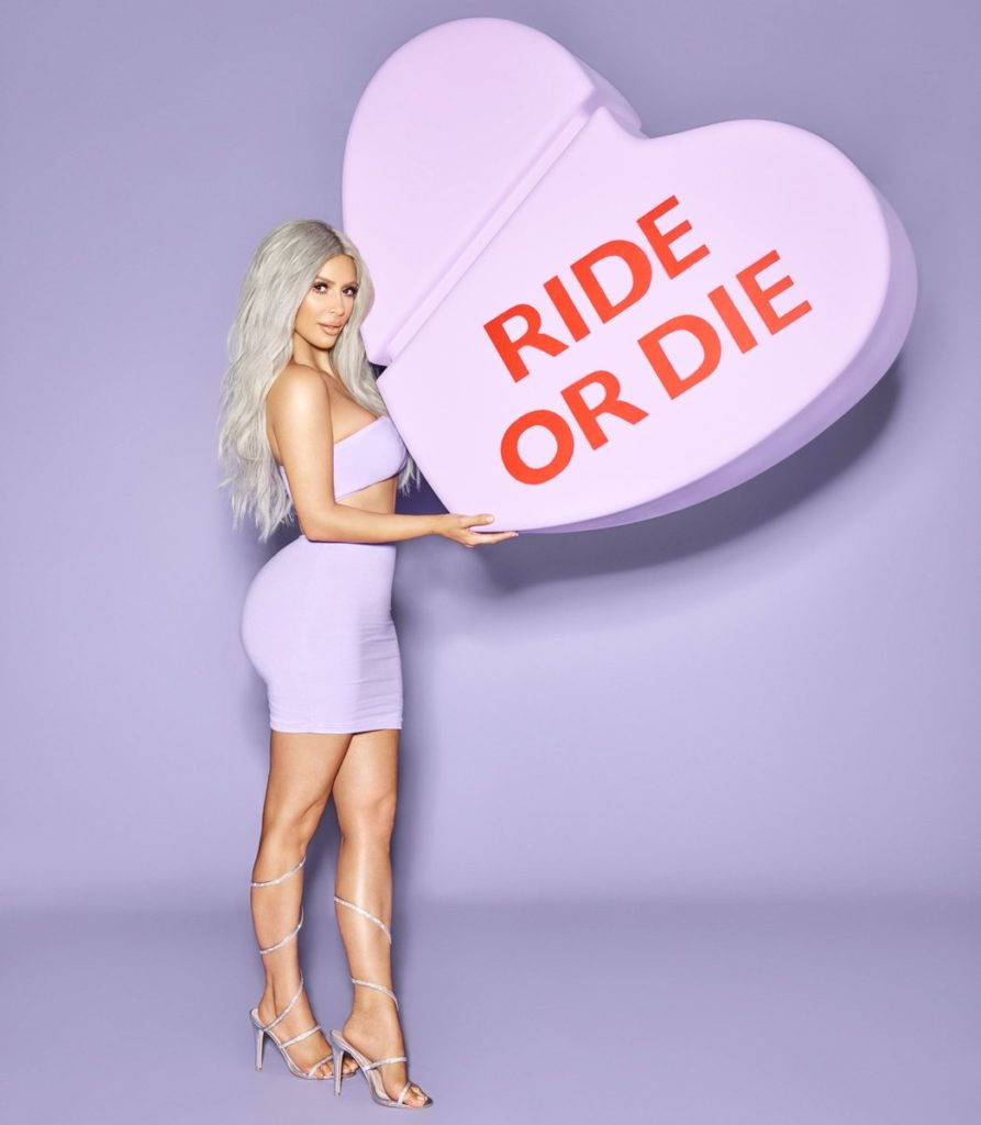 ride or die kimoji heart fragrance by kim kardashian west of KKW Beauty