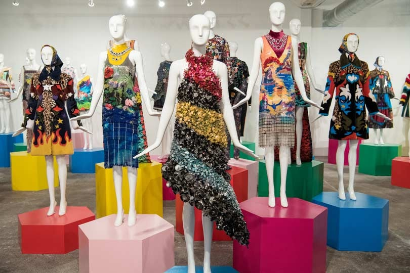 Mary Katrantzou solo exhibit in dallas