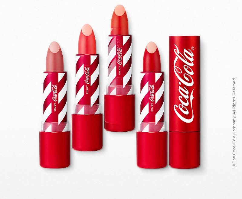 Coca Cola x The Face Shop Makeup Collection