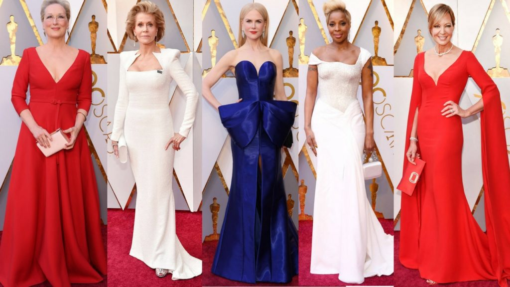 the 2018 oscars red carpet