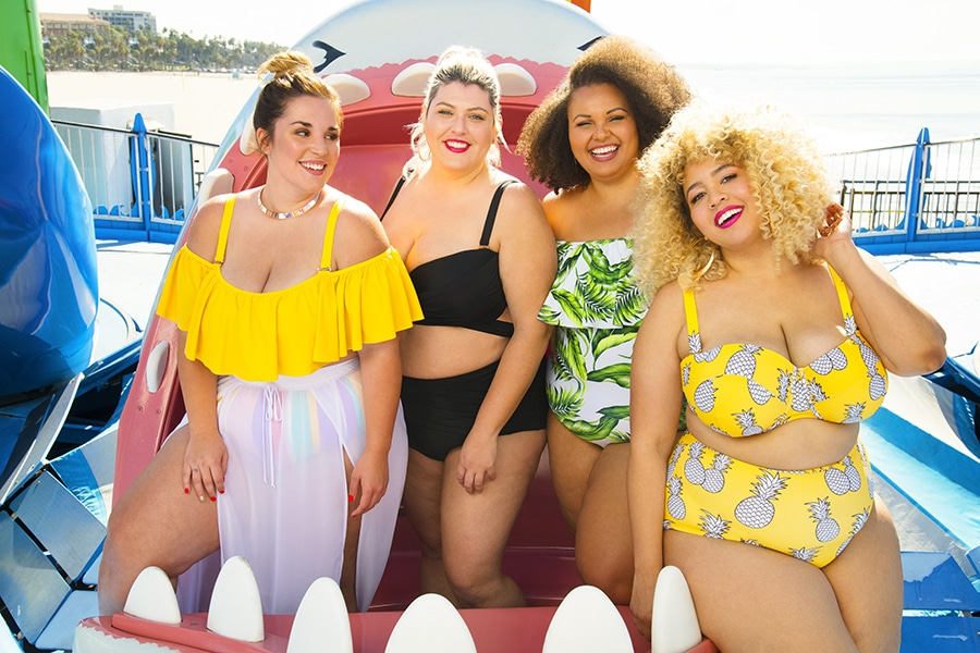 "GabiFresh x Swimsuits For All ""Power Play"" Collection"