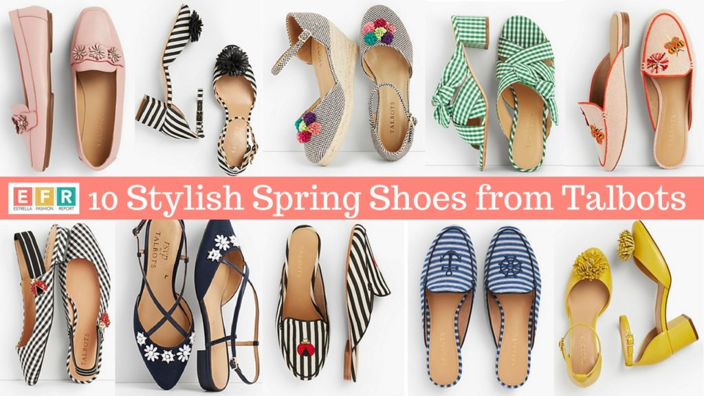 10 Stylish Spring Shoes From Talbots