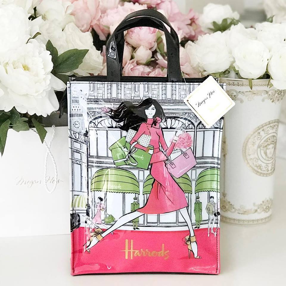 Megan Hess x Harrods Shopper Bag
