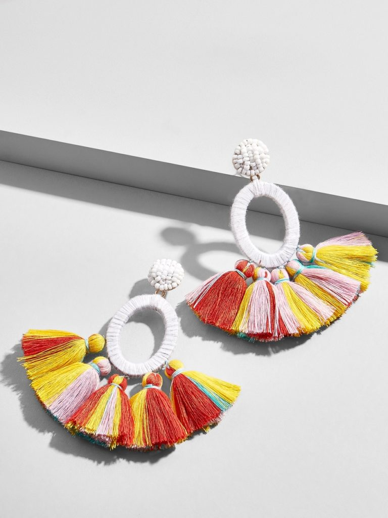 abacos tassel earrings from bauble bar