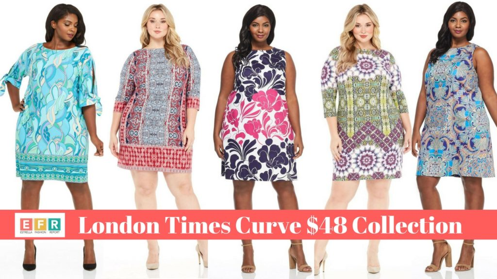 8 Plus Size Shift Dresses From London Times Curve $48 Collection