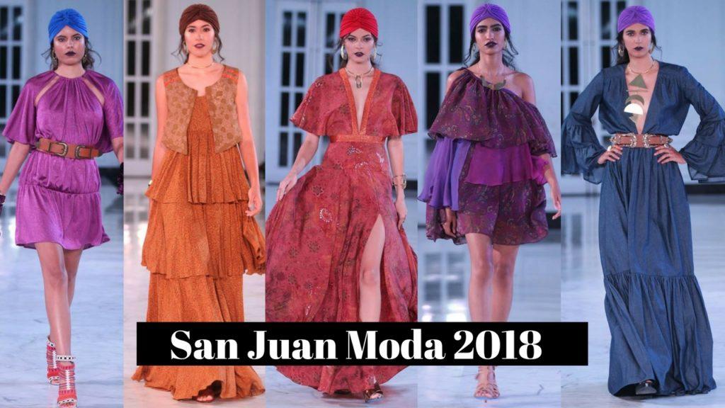 Destellos de la Moda at San Juan Moda 2018.