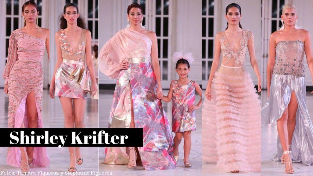 Diseñadora Shirley Krifter at San Juan Moda 2018