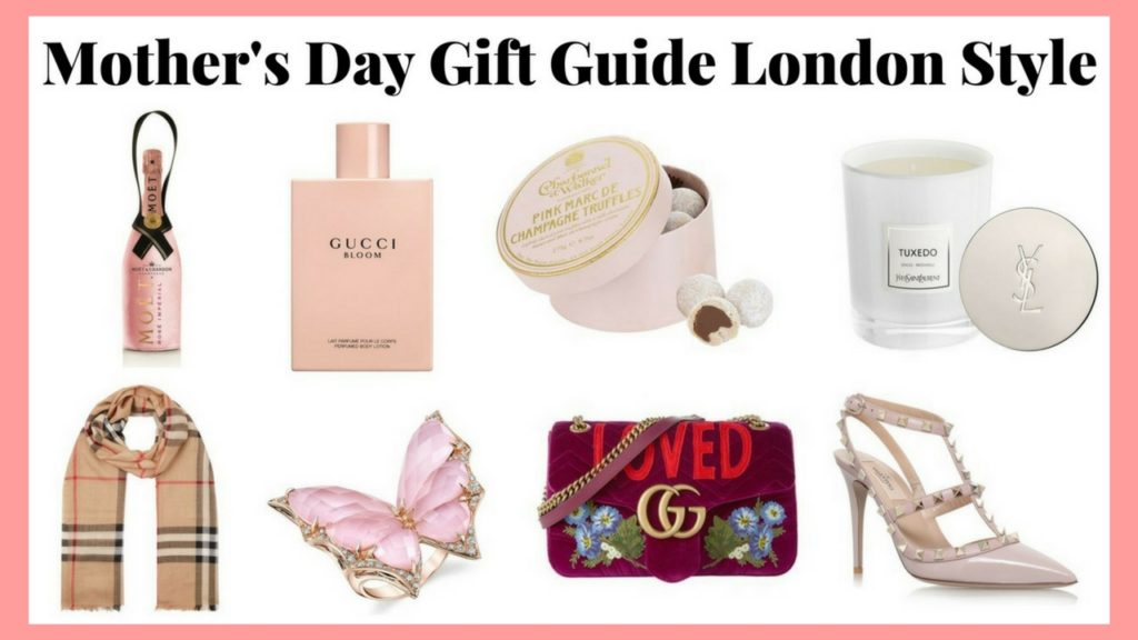 Mother's Day Gift Guide London Style